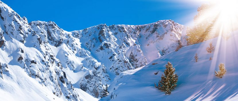 Snowy Mountains in Grandvalira
