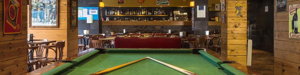 Bar area, Hotel Magic Pas