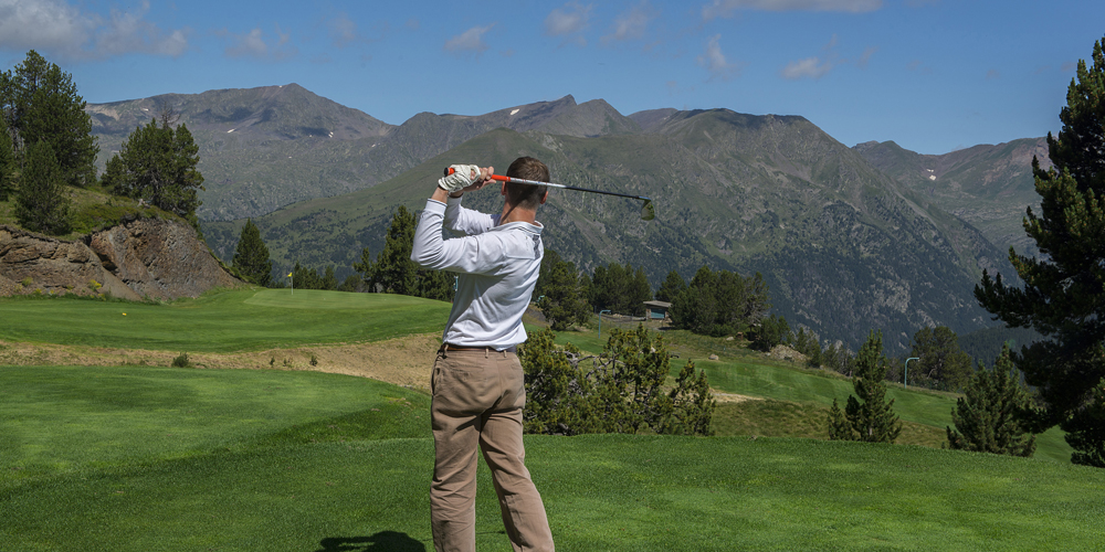 Golfer in Soldeu