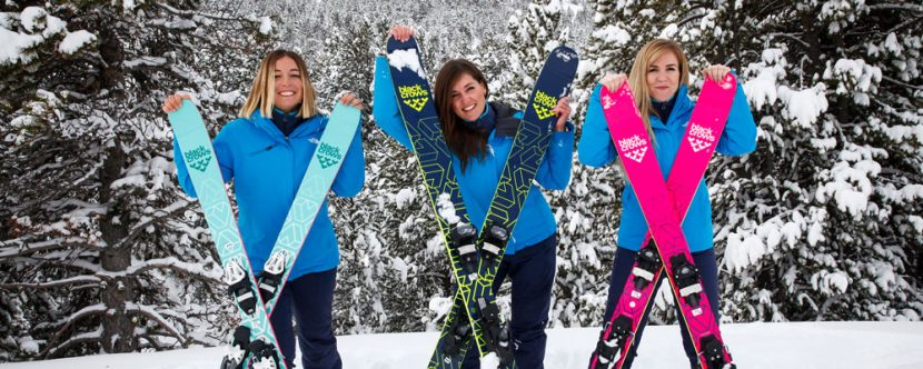 Andorra Resorts team with skis