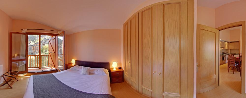 La Pleta bedroom