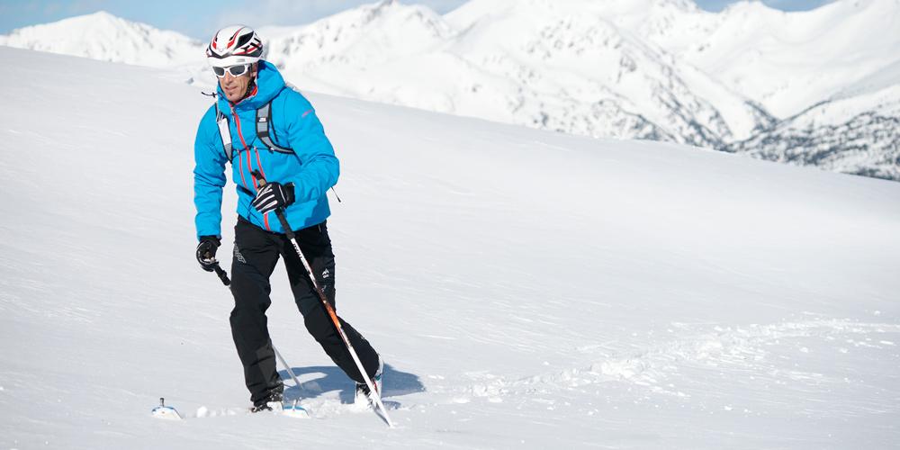Single cross-country skier