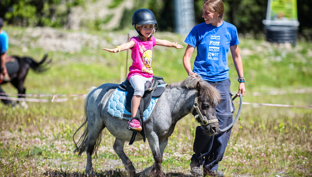 Pony Rides in Canillo