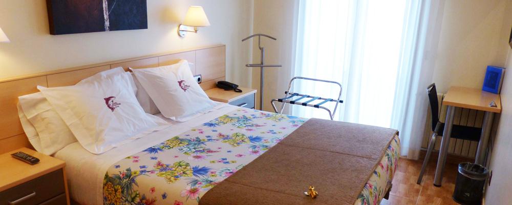 Les Truites bedroom