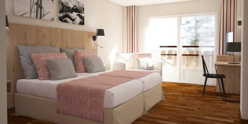 Bedroom at Pierre & Vacances Grand Pas