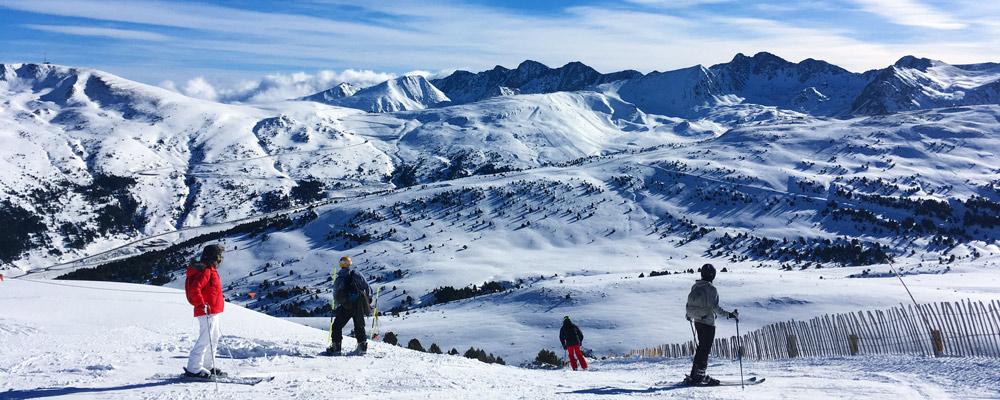 Skiers-on-mountain