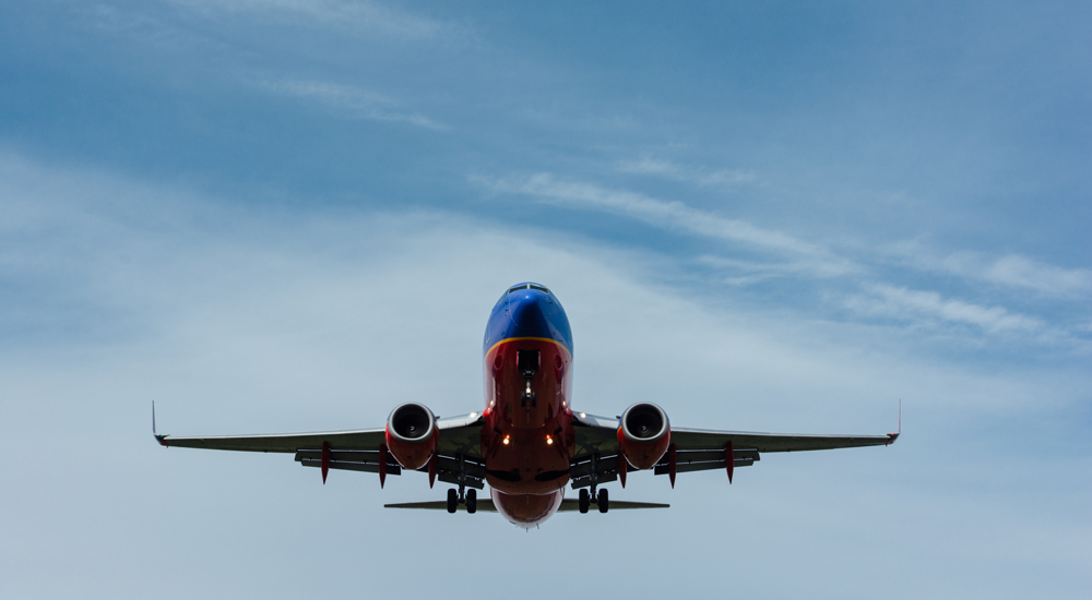 Flight taking off