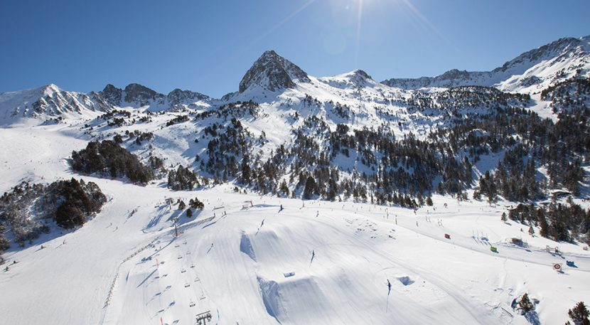 Grandvalira Grau Roig mountain scenery