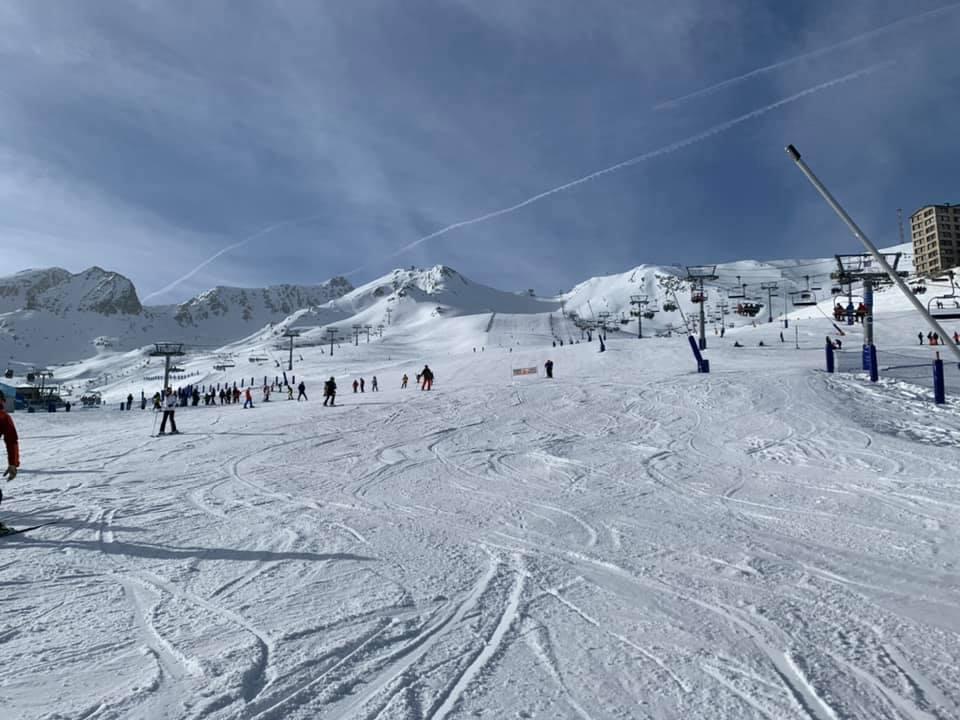 Ski slopes of Pas de la Casa