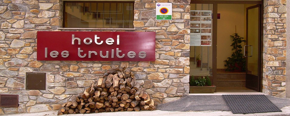 Always receiving excellent reviews, Hotel Les Truites is one of the top hotels in Pas de la Casa.