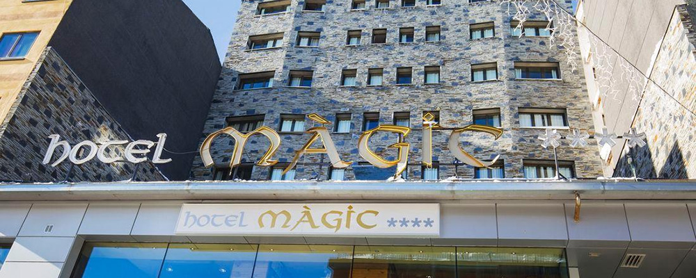 Hotel Magic Pas offers excellent value for money, and is very popular with families and groups.