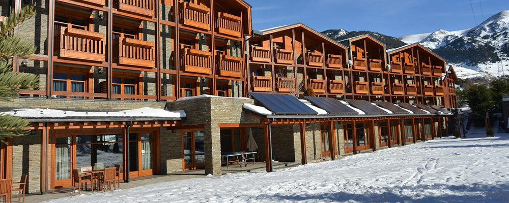 Easily the best hotel in El Tarter, sat at the foot of the slopes, Hotel Nordic is one of our favourites.