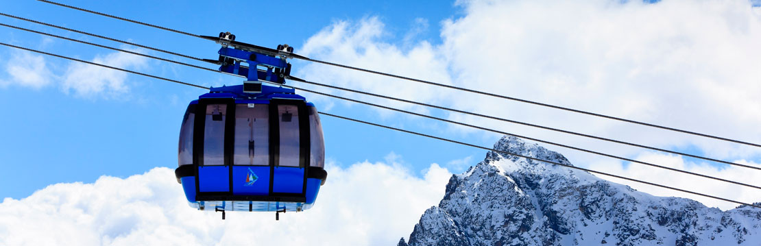 Funicamp cable car from Encamp to Grandvalira