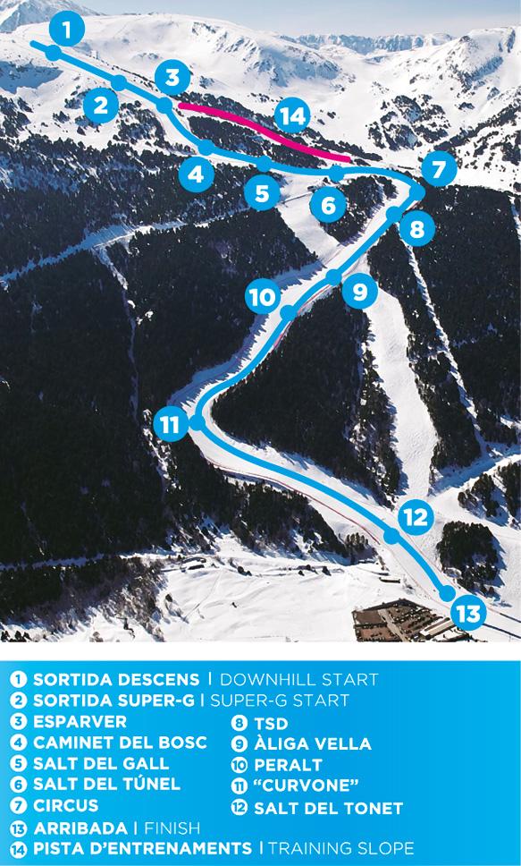 Fis Calendario.Fis World Cup Skiing In Grandvalira Soldeu Andorra Resorts